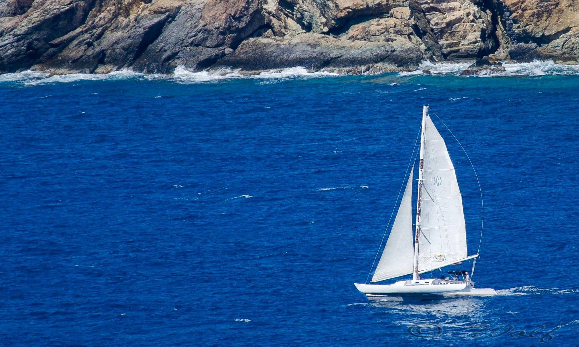 Trimaran Charter in Water Island