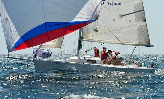 Enjoy 26' J/80 Sailing Sloop Charter In San Diego