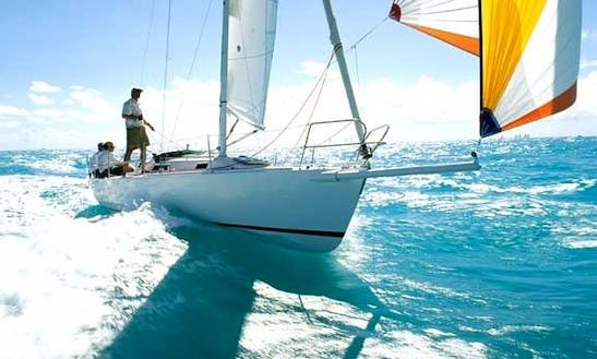 Enjoy A 35' Sloop J/105 Sailing Charter In San Diego, California