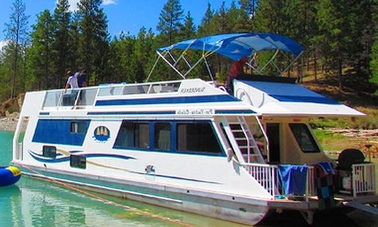 Rent The Sunseeker Iii Houseboat On Lake Koocanusa