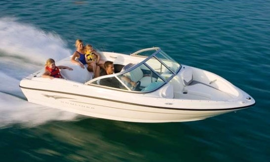 13' Bowrider Boat Rental On Lake Koocanusa