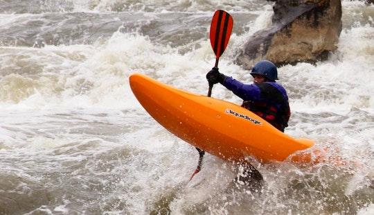 Exciting Kayak Trip In Jackson, Wyoming