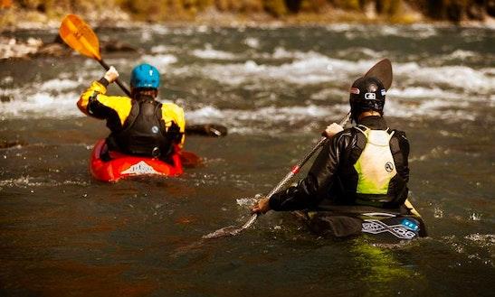 Private Kayak, Canoe, Sup, & Raft Instruction In Jackson