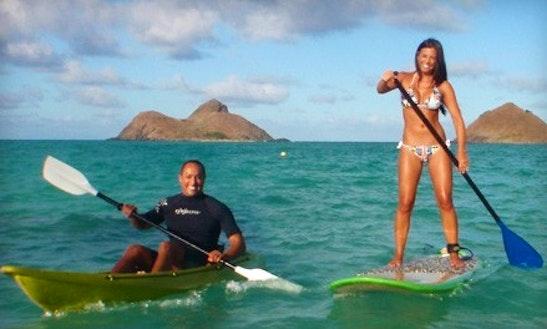 Kayak & Snorkel Adventure In Waikaloa, Hawaii