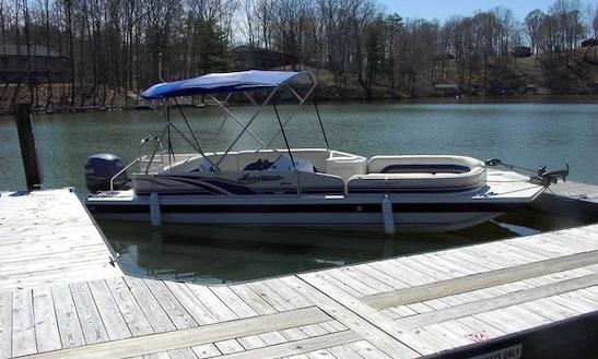12 Person Hurricane Deck Boat Rental In Moneta