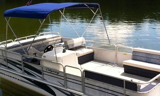 Rental: 21' Sunbird Deck Boat In Moneta