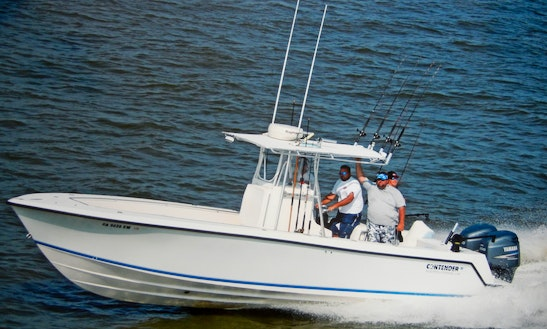 Deep Sea Fishing Boat Charter In St Simons Island , Ga
