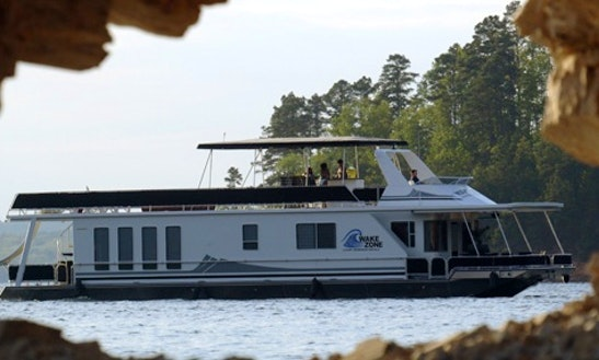 Houseboat Shirley Ann Rental On Lake Ouachita