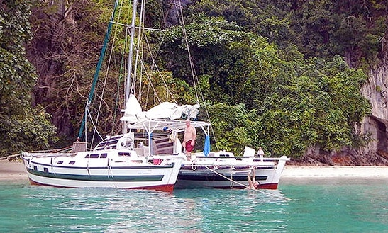 Charter Tiki 38 Cruising Catamaran In Ko Tao
