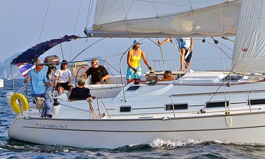 Sailing Yacht Charter In Ko Tao: Cyclades 39