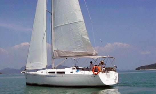 Hanse 400 Sailing Yacht Charter In Ko Tao