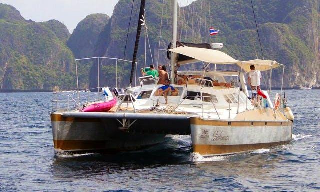 Peter Kerr Custom Catamaran Charter in Ko Tao