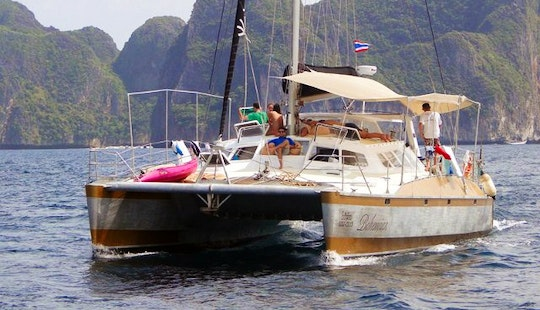 Peter Kerr Custom Catamaran Charter In Ko Tao