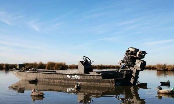Louisiana Fishing Charter On 20' Gator-Tail Boat