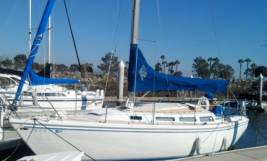 Charter 30ft Catalina Sailboat In San Diego, California