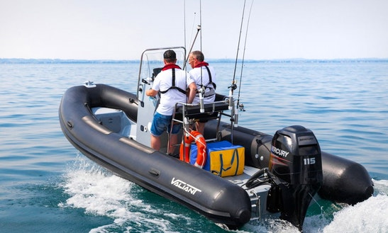 15' Rib Rental In Port Elizabeth, South Africa For 6 Person