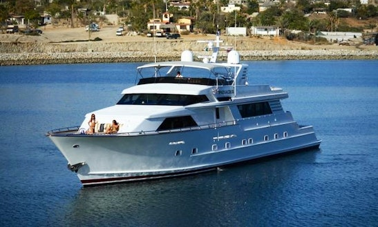 112' Private Yacht For Charter Cruise Cabo