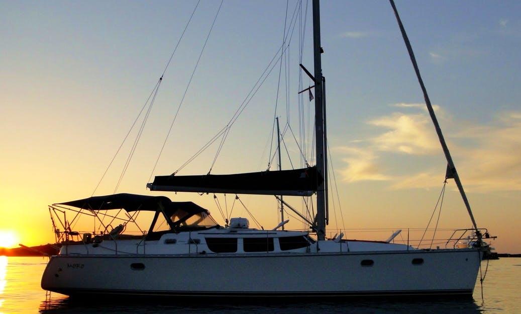 "Charter ""MISS U"" Sun Odyssey 43' in Tortola"