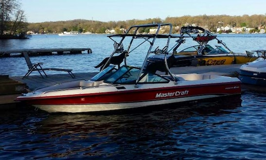 Rent A Master Craft Competition Ski Boat In Jefferson, New Jersey