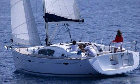 Sailing Holiday on a 43' Beneteau Oceanis in Flanders, Belgium