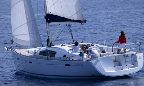 Sailing Holiday On A 43' Beneteau Oceanis In Flanders, Belgium