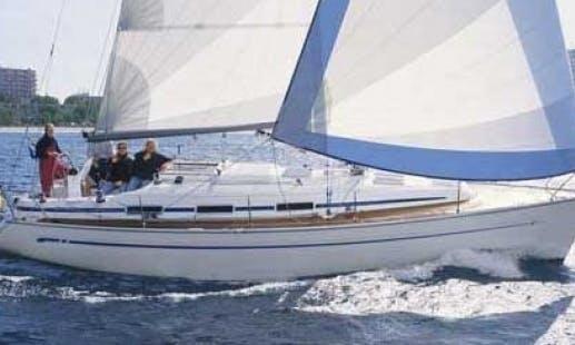 Bavaria 36 cruiser in Thessaloniki, Greece