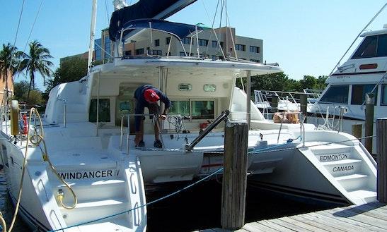 Charter 44' Catamaran In Fort Lauderdale, Fl