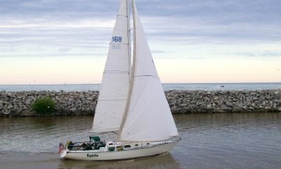 41ft Sailing Crusing Monohull Charter On ''white Lake'' Michigan, Usa.