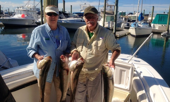 30' Sport Fisherman Charter In Hampton, New Hampshire