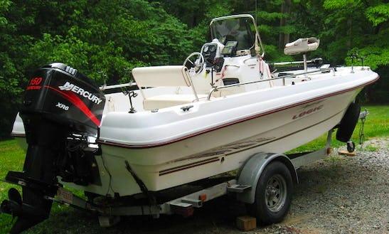 17' Deck Boat Rental In Warren, Ri