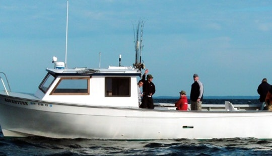 35' Sport Fisherman Charter In Narragansett, Ri