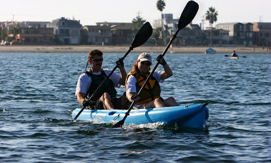 Hobie Tandem Paddle Kayak Rental In Niantic