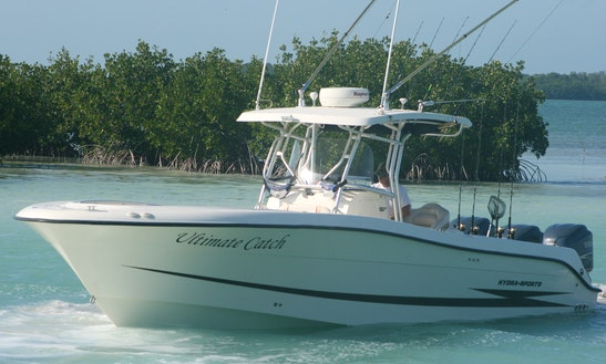 Offshore Center Console Fishing Charter On Hydra Sport 33