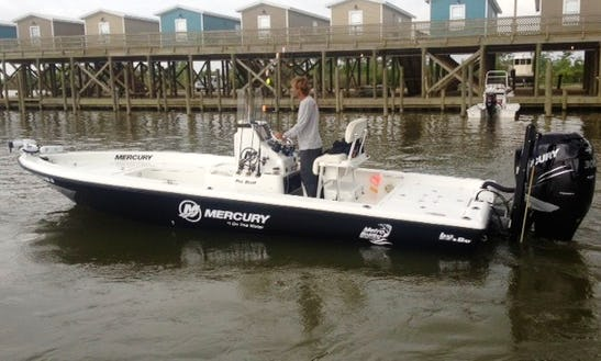 Venice Fishing Charter On 24ft Center Console With Captain James