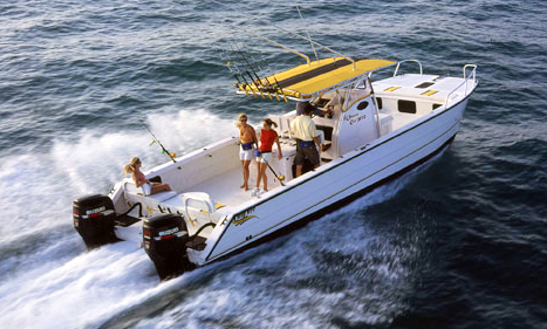 Venice Sportfishing Charter On 32' Twin Vee Fishing Catamaran