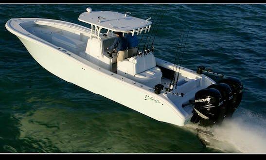 Venice Louisiana Fishing Charter On 36' Yellowfin Boat With Captain James