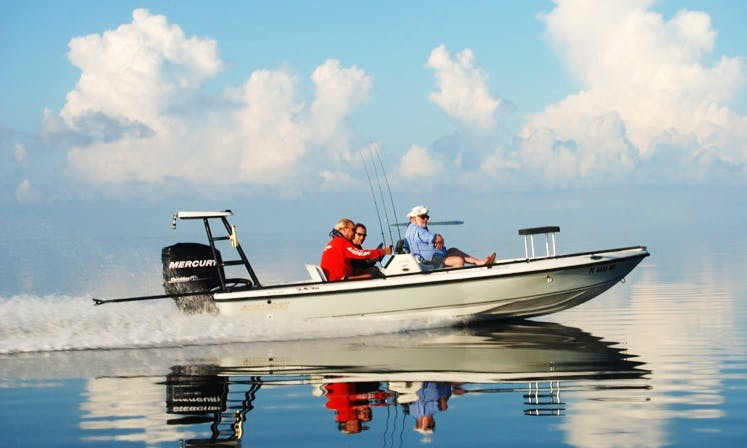 Fishing Charters on 18' Action Craft in Islamorada, Florida (With Captain Only)