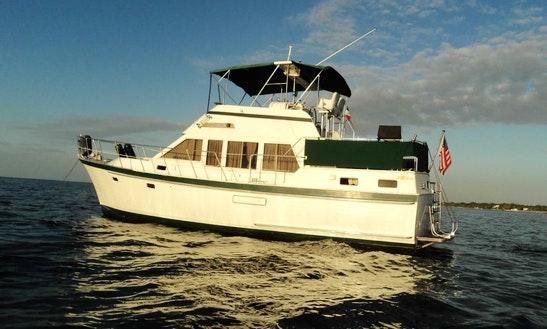 Charter 40ft Trawler In Aventura, Florida