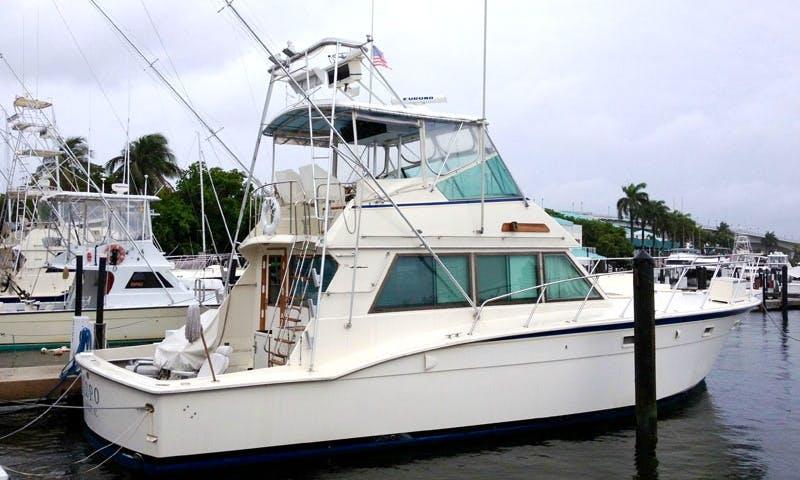 Sport Fisherman Yacht for Rental in St thomas, US Virgin Islands