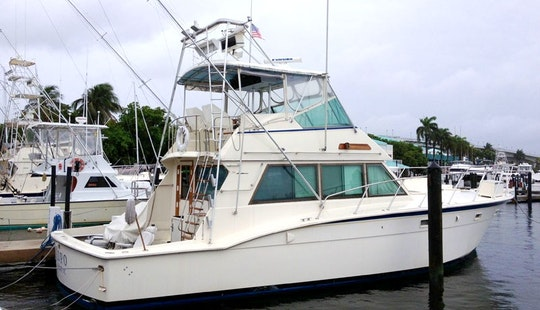 Sport Fisherman Yacht For Rental In St Thomas, Us Virgin Islands