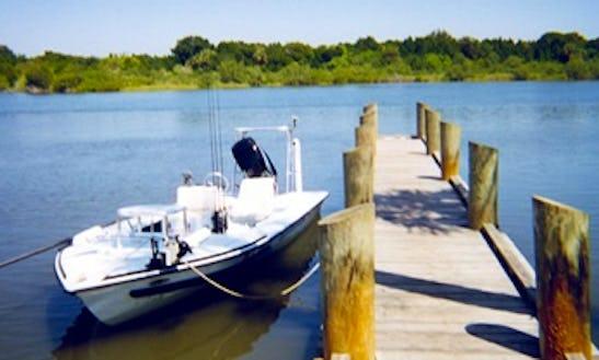 18ft Bass Boat Rental In New Smyrna Beach, Florida