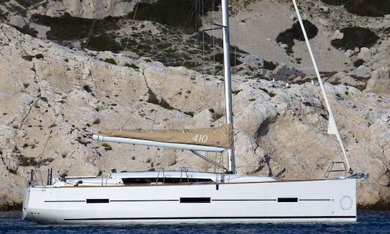 Vallauris France Dufour 410 Sailing Yacht Charter