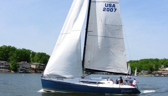 39' C&c 115 Sailboat Rental In Lake Ozark