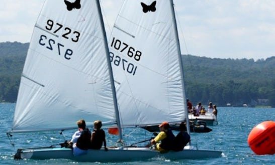 12' Butterfly Sailboat Rental In Lake Ozark