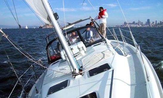 Hunter 38', See Coach Charters, Sausalito, Ca