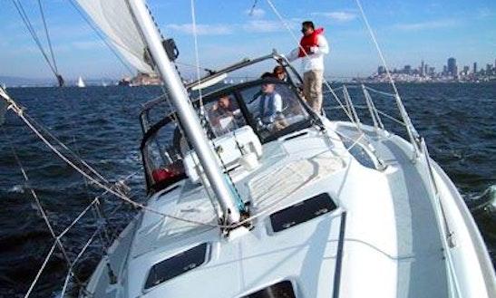 Hunter 38', See Coach Charters, Sausalito, Ca