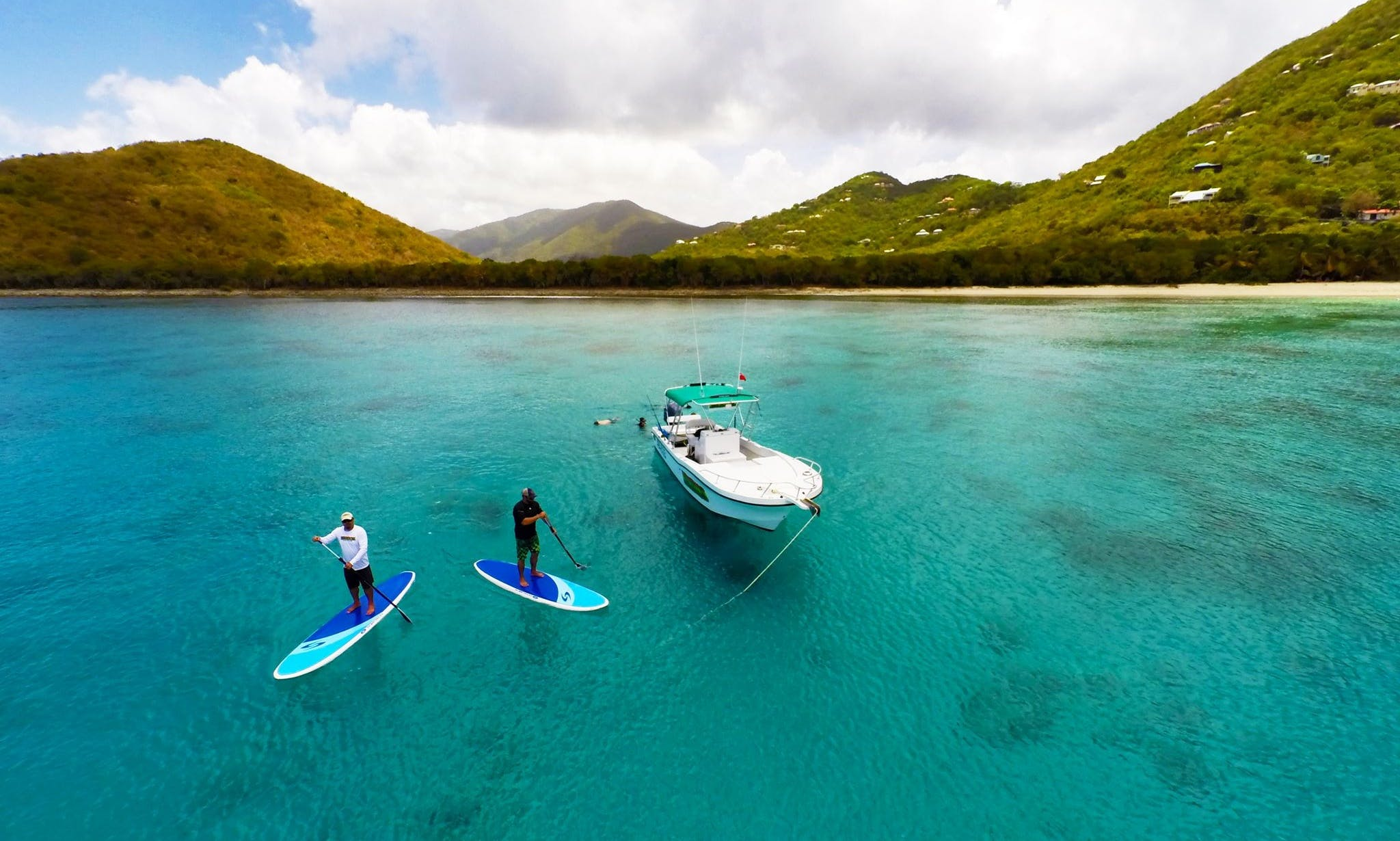Standup Paddleboard Rental in the British Virgin Islands