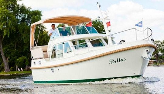 Linssen 29.9 Trawler For Rent In Zehdenick, Germany