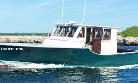 41ft Hatteras Sportfisherman Boat Charter In South Kingstown, Rhode Island