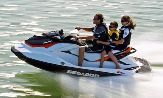Rent A 2011 Sea Doo Jet Ski On Lake Joseph, Ontario